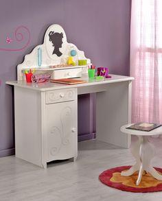 Schreibtisch Anna Mit Hocker 3tlg. Dieser Anmutend Weiße Schreibtisch Anna  Bringt Einen Hauch Von Nostalgie