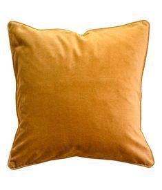 velvet cushion cover | H&M US