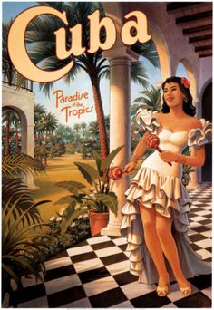 Cuba Paradise of the Tropics (Kerne Erickson)    I've been wanting to go to Cuba since I was in high school and learned about the Afro-Cubano music and saw movies from the 1940s and 1950s that advertised Cuaban tourism