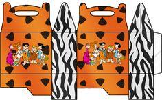 Caixa para Lembrancinha Flintstones: