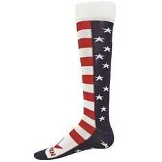 Brave USA Knee high socks by Red Lion Shop www.awesome-sports.com