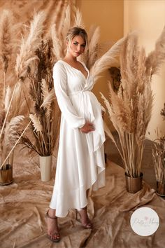 """New model! Maternity robe """"Peris""""already available for purchase in your size, custom tailoring!  #maternity #pregnancyoutfits  #pregnancyshoot #maternitydresses #gownsdresses  #fashion #diy #fitmom #pregnant #prettymammy #maternitygownforphotoshoot"""