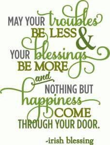 Silhouette Design Store - View Design troubles be less irish blessing - layered phrase Great Quotes, Quotes To Live By, Me Quotes, Inspirational Quotes, Motivational, Happy Quotes, Vintage Frases, Irish Quotes, Irish Sayings
