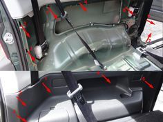 Installation of the rear speakers on the Suzuki Jimny - DanBP.org
