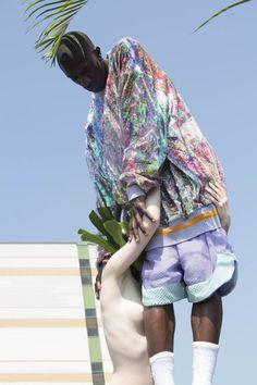 Brogan Toyn - BA menswear graduate collection Sequin textiles by Zoe Sterling.