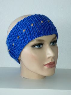 PulseofEurope Stirnband availäble on Dawanda, Etsy, Ebay