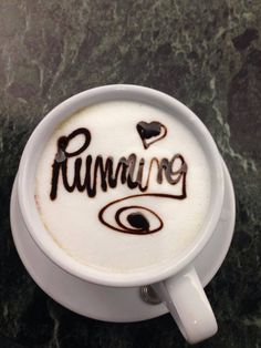 coffee and running <3 two of my favorite things put together!!