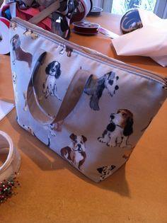 doggy wash bag