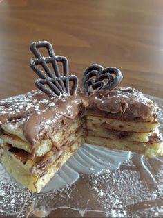 Pancakes με μπανάνα !!! ~ ΜΑΓΕΙΡΙΚΗ ΚΑΙ ΣΥΝΤΑΓΕΣ 2 Yams, Cravings, Pancakes, Breakfast, Food, Morning Coffee, Eten, Meals, Pancake