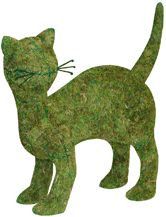 Topiary Cat, Plant Frames Forms, Moss Kitties, Shrub Topiaries