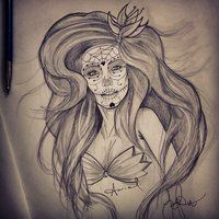 Day of the Dead Ariel :)