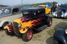 32 Ford, Motors, Cool Cars, Hot Rods, Man Cave, Classic Cars, Monster Trucks, Garage, Colorful
