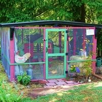 This is by far the cutest chicken coop I have ever seen.