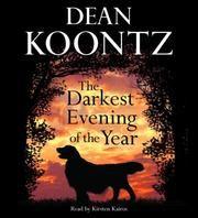 Love this book. My 1st dean koontz book, amazing!