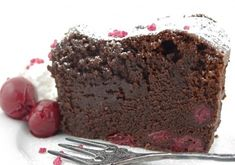 Chocolate Cake with Cherry - Recipe - The Answer is Cake