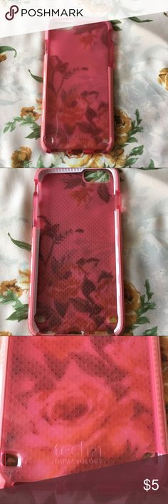 Tech 21 evo mesh iPhone 6/6s plus case in pink Cute and protective case for iPhone 6/6s plus . Preloved but in good condition tech 21 Accessories Phone Cases