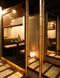 Zenkichi Berlin delivers an authentic Japanese experience with Brooklyn hospitality know-how Japanese Restaurant Interior, Chinese Interior, Japanese Interior Design, Restaurant Interior Design, Cafe Interior, Japanese Design, Asian Interior, Japanese Bar, Japanese House