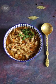 Flaki wołowe Ethnic Recipes, Food, Meal, Essen, Hoods, Meals, Eten