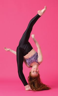 Ashi Ross's power move: The Tilt Drop (photo by Erin Baiano for Dance Spirit)