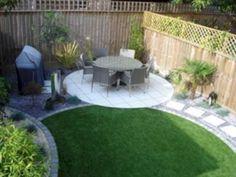 57 small backyard garden landscaping ideas - My world Garden Design Ideas Uk, Back Garden Design, Backyard Garden Design, Patio Design, Garden Inspiration, Design Design, Modern Design, Design Inspiration, Small Garden Landscape