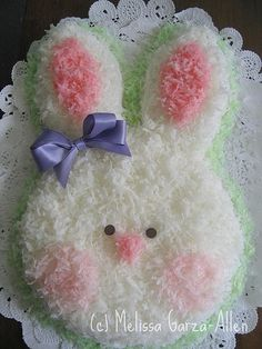 Finally -- a post about my famous (thanks to CakeWrecks.com)  old-school bunny cake! I was recently surprised to find my photo on a few ...