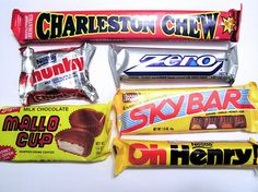Old-Fashioned Candy Bar Mission by tiny muffins, via Flickr