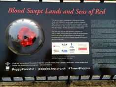 Tower of London - Blood Swept Lands and Seas of Red Ceramic Poppies, Remembrance Day Poppy, Tower Of London, Seas, Installation Art, Blood, Handmade, Hand Made, Art Installation