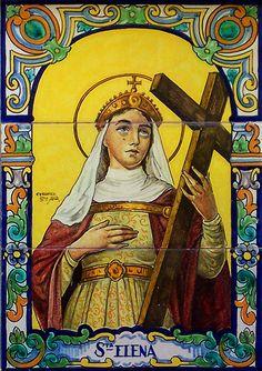 18 augustus: H. Helena (ca. 248-329), keizerin moeder. Helena was de moeder van keizer Constantijn de Grote, van wie ze de titel Augusta (Verhevene) kreeg. Beiden hebben veel gedaan om het christelijk geloof te verbreiden. Helena ging op pelgrimsreis naar Jeruzalem, waar ze kerken stichtte: bij het geboortehuis van Nazareth (de Geboortekerk), op de Hof van Olijven en op de plaats van Zijn Hemelvaart. Ook ontdekte zij het kruis van Jezus.