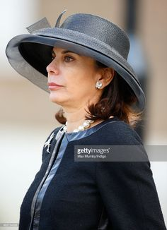 Lily Spencer-Churchill, Dowager Duchess of Marlborough attends a service of thanksgiving for the life of her husband John Spencer-Churchill, 11th Duke of Marlborough at The Guards Chapel, Wellington Barracks on February 4, 2015 in London, England. John Spencer-Churchill, 11th Duke of Marlborough died aged 88 on October 16, 2014.