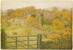 George Price Boyce: Thorpe, Derbyshire  (1879-1880)