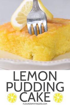 How to make the best and easiest lemon pudding cake with a slightly crispy, simple, powdered sugar glaze. Hands down my family's favorite lemon cake recipe, using a cake mix and instant pudding. From Grandma's recipe box! #lemoncake #sheetcake #easydesserts #Grandmasrecipes #lemonpuddingcake #puddingcake Dessert Simple, Sheet Cake Recipes, Cake Mix Recipes, Lemon Pudding Cake, Lemon Pudding Recipes, Myer Lemon Recipes, Pudding Cake Mix, Lemon Dessert Recipes, Salty Cake