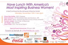 Little Pink Book 10th Anniversary Fall Empowerment Event is coming to Buckhead'sIntercontinental Hotel, on November 10th from 11am-2pm. This will be an exciting gatheringand I cant wait to have lunch with some of America's top business women! I love attending conferences and events that allow me to walk away with tangible knowledge that I can use immediately as a new entrepreneur. Trust me when I say this will be a meeting of the minds and I am empowered already by knowing that I will…