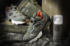 Joins mita sneakers for a Flight Jacket-Inspired Reebok Instapump Fury OG e519f090a