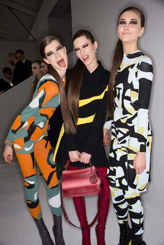 Christian Dior Fall 2015 Ready-to-Wear Fashion Show Beauty