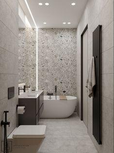 De&De/Eco minimalism apartment on behance basement house, basement bathroom, videos online, Bathroom Renos, Bathroom Furniture, Small Bathroom, Basement Bathroom, Remodled Bathrooms, Colorful Bathroom, Dyi Bathroom, Bathroom Plants, Bathroom Renovations