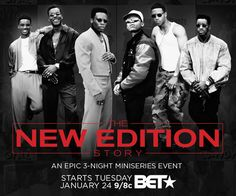 """On Monday, January 23, 2017 legendary R&B group New Edition will be honored with a star on the Hollywood """"Walk of Fame."""""""