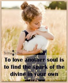 To love another soul is to find the spark of the divine in your own #love #compassion #divine #soul #animals #cat #friendship