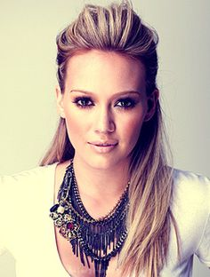I have some major hair envy when it comes to Hillary Duff! My Hairstyle, Pretty Hairstyles, Wedding Hairstyles, Blonde Hairstyles, Elegant Hairstyles, Homecoming Hairstyles, Party Hairstyle, Straight Hairstyles, Hairstyle Ideas