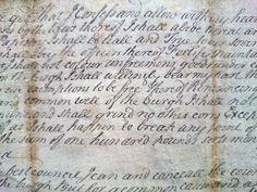 18TH CENTURY SCOTTISH HANDWRITTEN DOCUMENT ON VELLUM GUILDS GLASGOW  1782