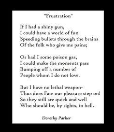 dorothy parker cracks me up