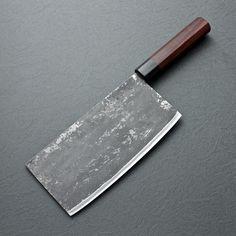Takeda Aogami Super Chinese Cleaver - 200mm Chef Knife Set, Knife Sets, Chef Knife Bags, Japanese Kitchen, Japanese Chef, Butcher Knife, Folding Pocket Knife, Best Pocket Knife, Beil