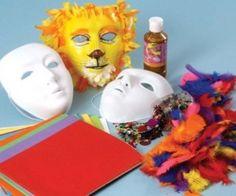 como hacer mascaras de carnaval con globo