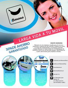 Buenos días a tod@s Os recordamos que en breve daremos la fecha de la nueva apertura de Grupo iBanana en Chiclana Larga vida a tu movil  www.iBanana.es