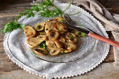 scaloppine di pollo con funghi