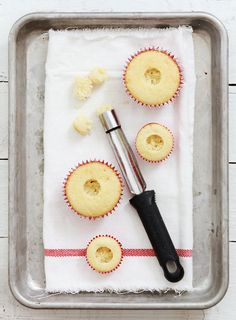 Tips and Tricks: How to core and make a filled cupcake
