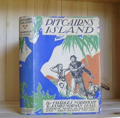 Vintage Book Pitcairn's Island by Charles by CrookedHouseBooks