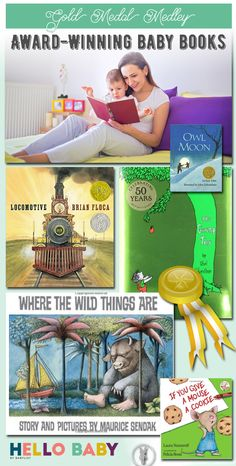 There's a reason these baby books are award-winning and famous: they tug at the heartstrings of adults and kids alike. Owl Moon, Award Winning Books, Baby Books, Baby List, Heartstrings, Childrens Books, Pink Blue, Good Books, Activities For Kids
