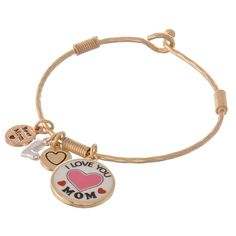 Shop the latest styles in Fashion Jewelry, Fashion Accessories and Collegiate from Divva Style Boutique Bangle Bracelets With Charms, Bangles, I Love You Mom, My Love, Fashion Accessories, Fashion Jewelry, Fashion Boutique, Latest Fashion, Charmed