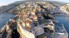 Aerial video footage of Ulcinj Old Town and Velika Plaža in Montenegro. Unfortunately due to some mistake while operating the copter it crashed on sand, besi. Ancient Architecture, Travel Information, Video Footage, Montenegro, Old Town, Beautiful Places, Amazing Places, Places To See, Seaside