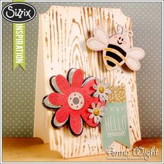 Sizzix Inspiration | Ticket Card by Anna Wight